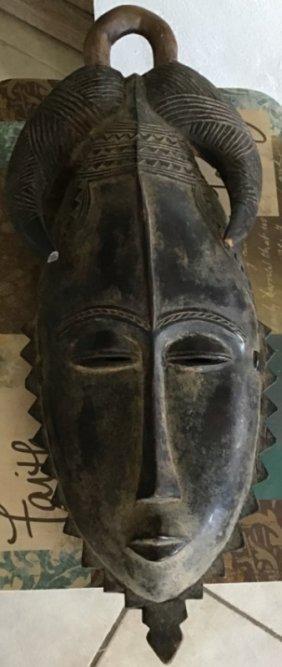 Original African Mask Wood Carved
