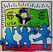 Alec Monopoly Print on Canvas