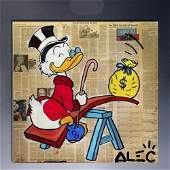 Alec monopoly Oil Painting on Canvas.