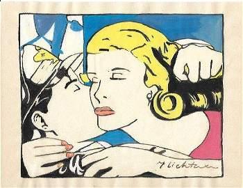 Roy Lichtenstein Drawing