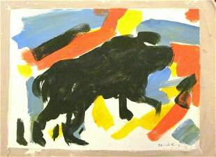 Elaine de Kooning oil Painting on Canvas