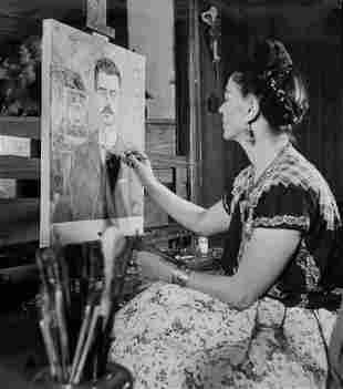 Frida Kahlo photo print