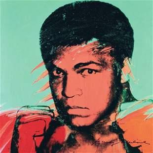 Andy Warhol Muhammad Ali Pop Art