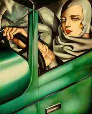 Tamara de Lempicka Print On Canvas