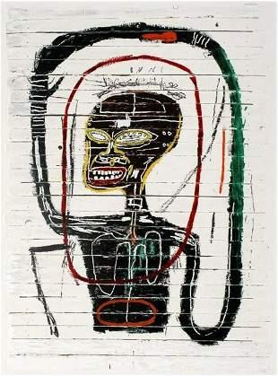 Jean Basquiat Mixed Media Neo-expressionism