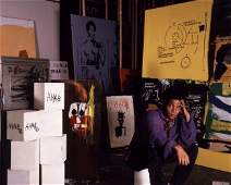 Jean Michelle Basquiat Photo Print