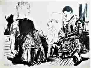 PABLO PICASSO ORIGINAL HELIOGRAVURES. after Picasso.