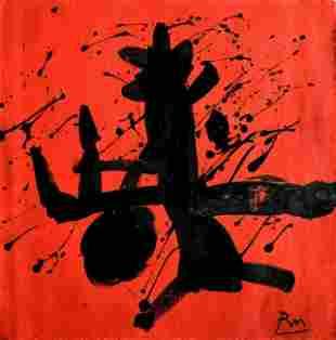 Kim Nam-joon Modern Art Abstract oil Painting