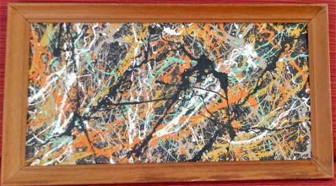 Jackson Pollock Abstract Painting