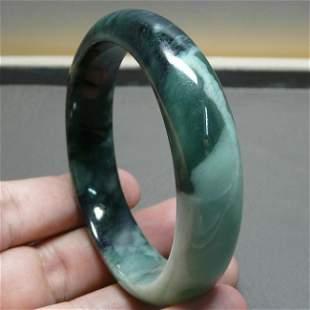 Genuine Jadeite Jade Bangle Inner 58.5 mm
