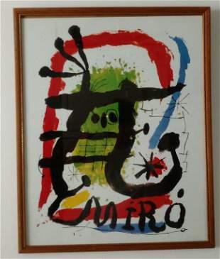 Miro  Print on Paper