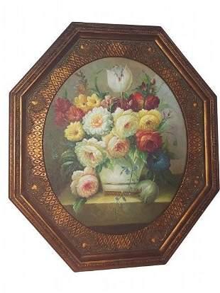 Original Romantic Era Painting