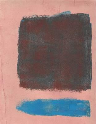 Mark Rothko Mixed Media on Paper