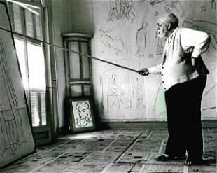 Self Portrait Black & White Henri Matisse Photo