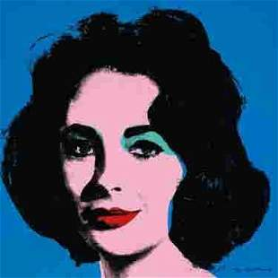 Andy Warhol Elizabeth Taylor Pop Art