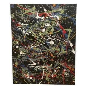 Jackson Pollock Abstract Expressionist American