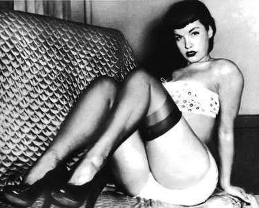 Betty Page Photo - Spain -Photo Print