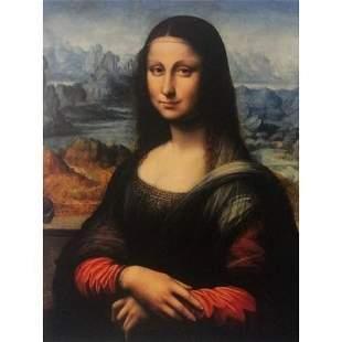 Mona Lisa Rare Edition Art Print