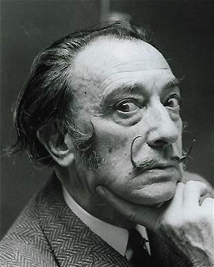 Salvador Dali Photo Print