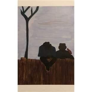 Jacob Armstead Lawrence Art Print
