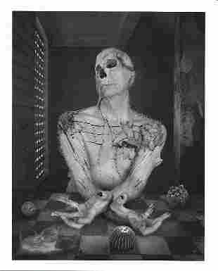 B&W Avant Garde Experimental Surrealist-Photo Print