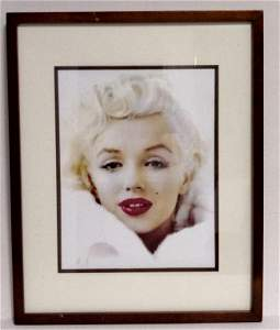Marylin Monroe  Print Thick Paper Frame