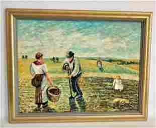 Camille Pissarro Impressionism Hand Painting on Canvas