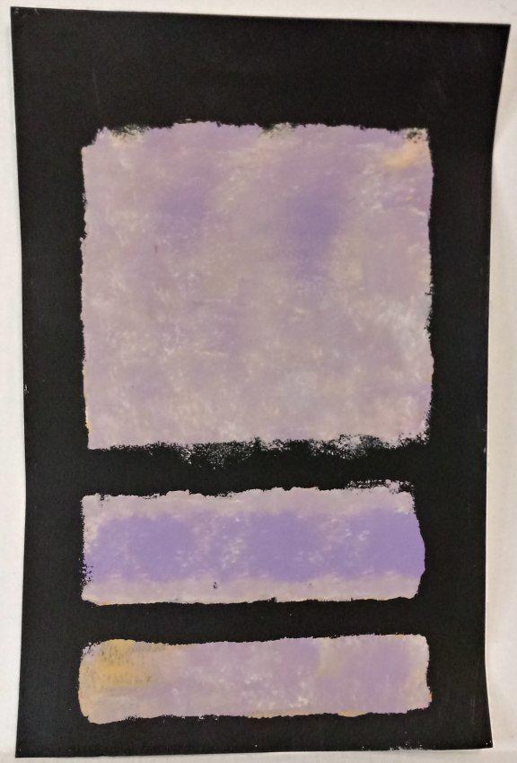 Mark Rothko Mixed Media on Paper.