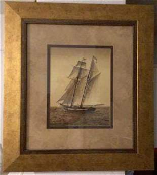 PARAGON PICTURE GALLERY ARTIST LE BLANC FRAMED . 12 +
