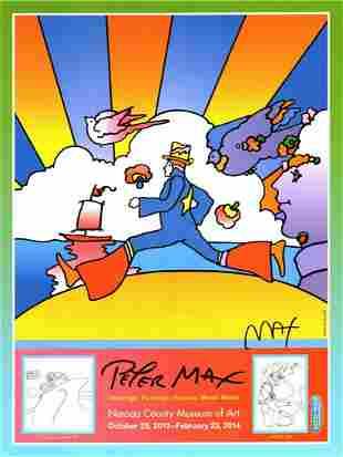 PETER MAX POSTER-Sign-pNASSAU COUNTY ART FEST-PRINT