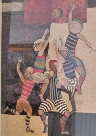 1975 Graciela Rodo Boulanger Lithograph Print