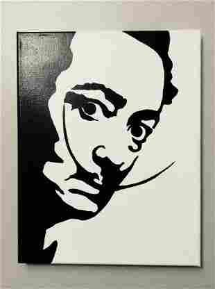 DALI Acrylic painting