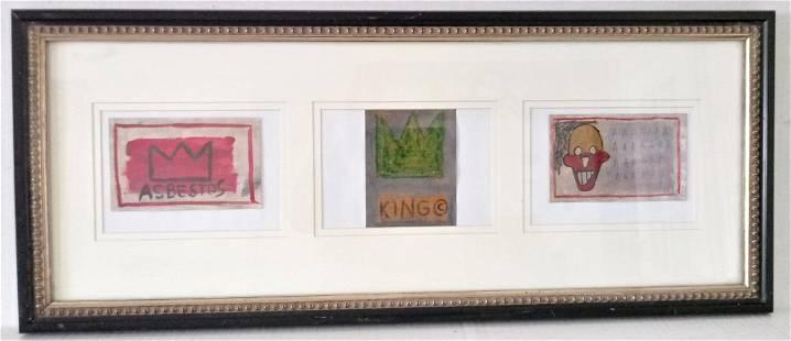 3 Post card Jean Michel Basquiat