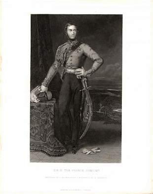 Queen Victoria Engravings, circa 1875