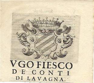 Coats Of Arms Heraldry Italian Antique Engravings