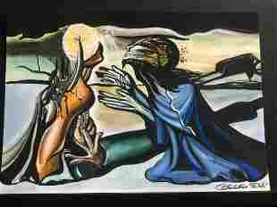 Salvador Dalì - Tristan e Isolda 1944 - Art