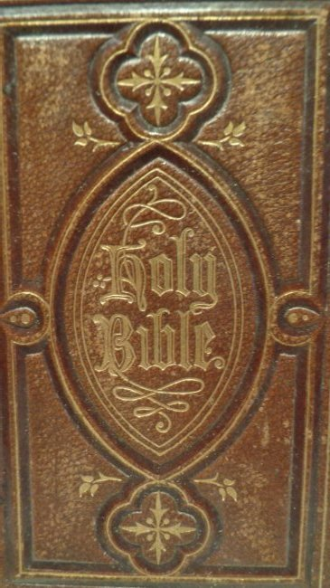 Antique 1865 Pearl Reference Bible - Glasgow: William C