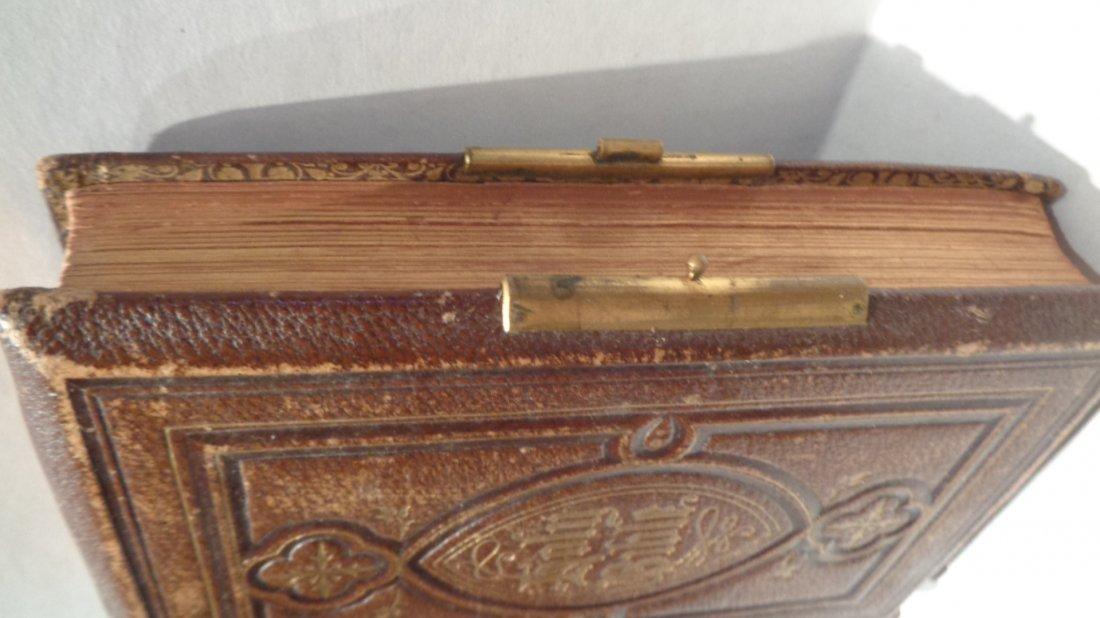 Antique 1865 Pearl Reference Bible - Glasgow: William C - 3