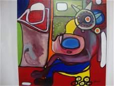 Gustavo Jaramillo (b.1956)Colombian Surrealism Modernis