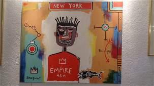 Basquiat N York Figurative Modern Contemporary Painting