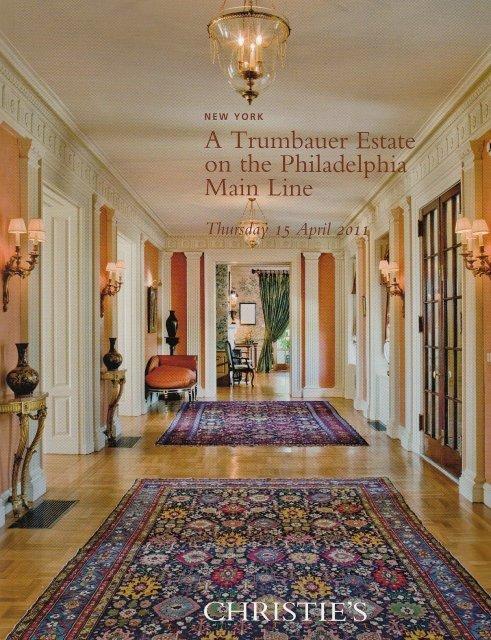 Christie's A Trumbauer Estate on the Philadelphia Main