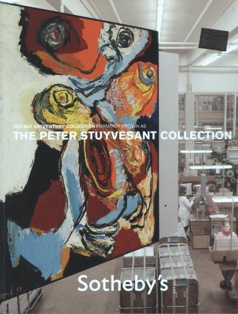 Sotheby's The Bat Artventure Collection-Peter Stuyvesan