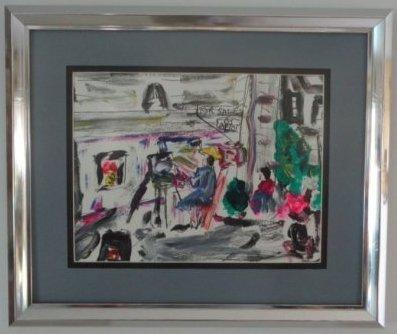 Robert Sundholm(1941 Ame)N York Impressionism Plain Air