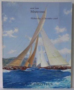 "Christie""s New York Maritime Catalog"