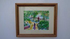 Robert Sundholm Central Park N York Painting