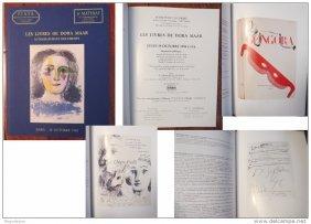 "Dora Maar""picasso""book-documents-autographs Piasa Paris"