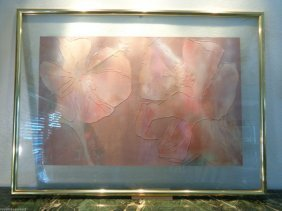 Large Original Modernist Art Flower Abstract Painting