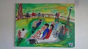 Original Robert Sundholm (1941 Ame) Central Park-n York