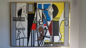 Large Contemporary Art - Picasso-contemporary Art