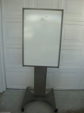 Heavy Duty Poster Stand Sign Bulletin Display Double